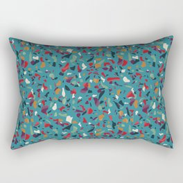 Paradise Tropical Terrazzo Rectangular Pillow