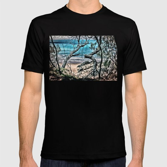 Trees by the sea T-shirt