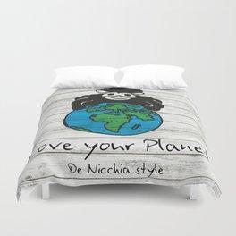 Love your Planet Duvet Cover