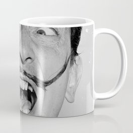 Salvador Dali Portrait (digital portrait) Coffee Mug