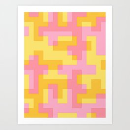 pixel 001 02 Art Print