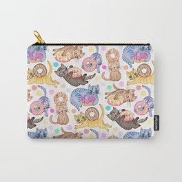 Sprinkles on Donuts and Whiskers on Kittens Carry-All Pouch