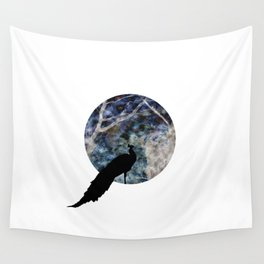 Peacock Worlds Wall Tapestry