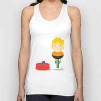 aquaman Tank Tops featuring My liquid hero! by Juliana Rojas | Puchu