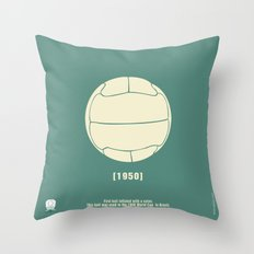 1950 Throw Pillow