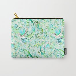 Mermaid Pattern 05 Carry-All Pouch