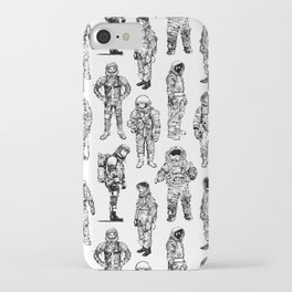 Astronauts and Flight Suits iPhone Case