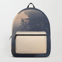 Foggy Coastal Morning Backpack