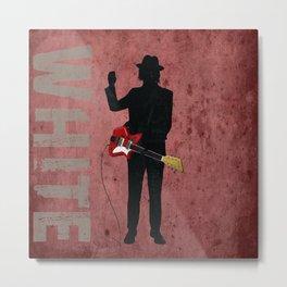 Jack White - Rock Wall 5 of 16 Metal Print