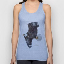Eagle soaring Unisex Tank Top