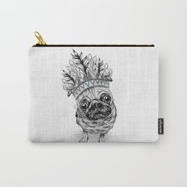 Indian Pug Carry-All Pouch