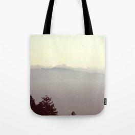Pastel Skyline   Landscape Photo Tote Bag