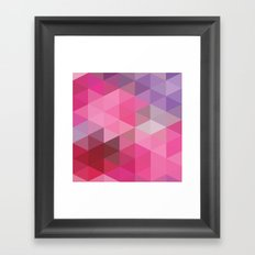 In The Pink Sky Framed Art Print