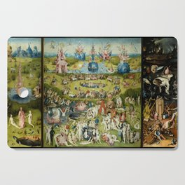 Hieronymus Bosch The Garden Of Earthly Delights Cutting Board