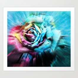 Vision of Love Art Print