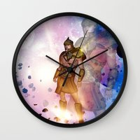 hercules Wall Clocks featuring Hercules by nicky2342