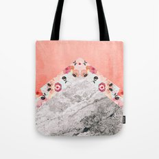 MIX IT BABY - CORAL MARBLE Tote Bag
