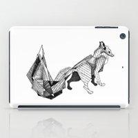 literature iPad Cases featuring literature fox 3 by vasodelirium