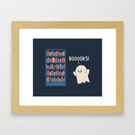 Booook Lover Framed Art Print