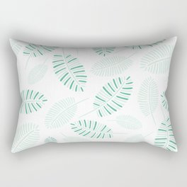 peace in the palms Rectangular Pillow