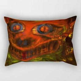 Kitsune Rectangular Pillow
