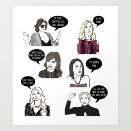 Housewives Art Print
