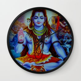 Shiva - Energize your day with his power Wall Clock