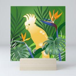 Cockatoo Paradise Mini Art Print
