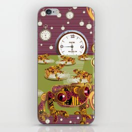 Freddie Croaker and the Clockworks Moonlight Sonata. iPhone Skin