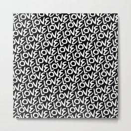 Love! Love! Love! Metal Print