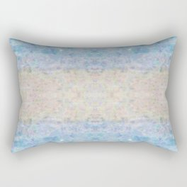 BOHEMIAN ICE STONE BLUE Rectangular Pillow