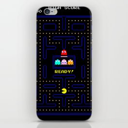 Pac Man iPhone Skin