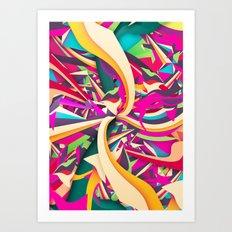 Explosion #2 Art Print