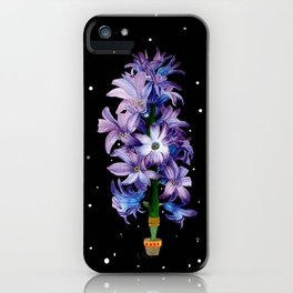 Space Hyacinth iPhone Case