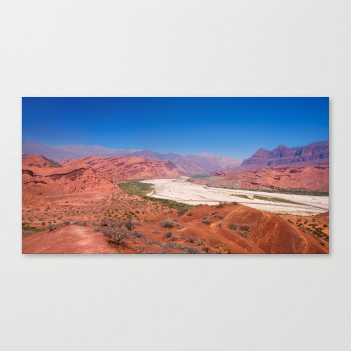 Quebrada de las Conchas - Salta - Argentina Canvas Print