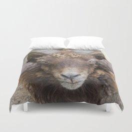 the sheep's horns Duvet Cover