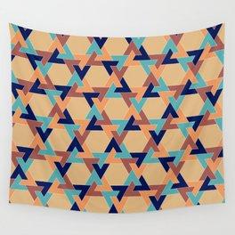 Geometric pattern 1977 Wall Tapestry