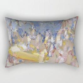 I can not pass examination Rectangular Pillow
