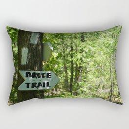BRUCE TRAIL Rectangular Pillow