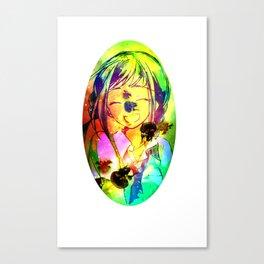 Jelly Girl Canvas Print