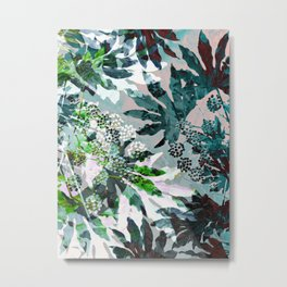 Tropical Adventure Metal Print
