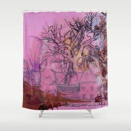 Everette Mansion Shower Curtain