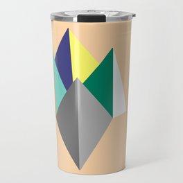 Paku Paku, original colours on peach Travel Mug