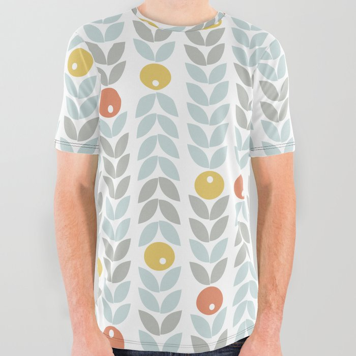 Mid_Century_Modern_Retro_Leaf_and_Circle_Pattern_All_Over_Graphic_Tee_by_19Monkeys__Small