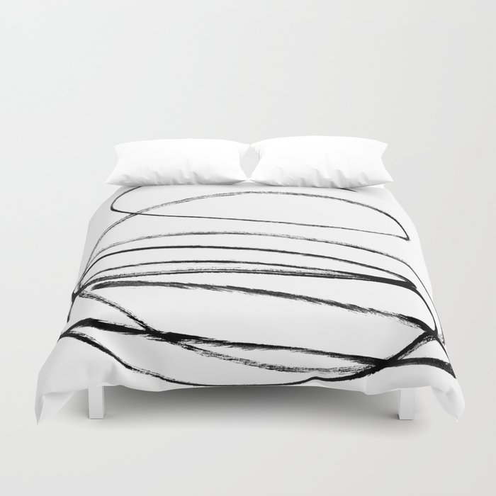 My mind is a mess. Duvet Cover