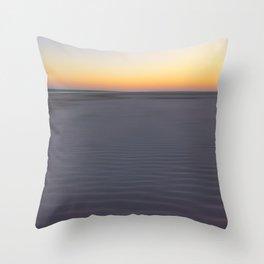 Hilton Head Island Ripples Throw Pillow
