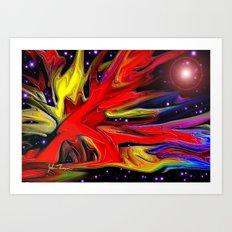 Cosmic Beauty 2 Art Print