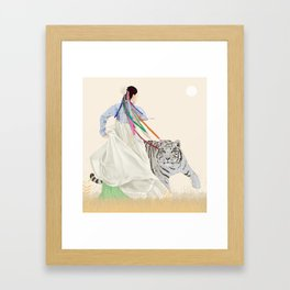 festivity Framed Art Print