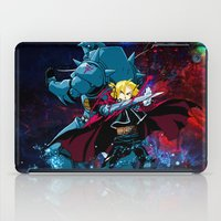 fullmetal iPad Cases featuring Two Alchemist by BradixArt