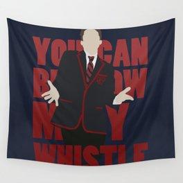 Hunter Clarington - Whistle - Nolan Gerard Funk - Glee - Minimalist design Wall Tapestry